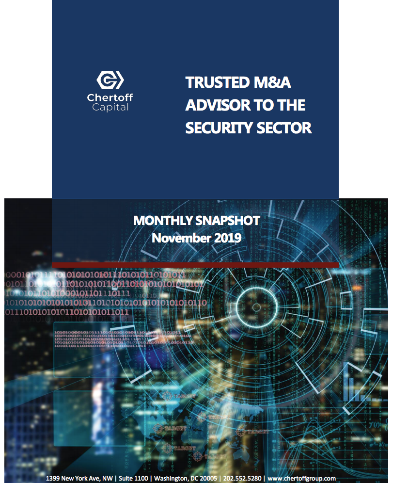 Chertoff_Security_Market_Snapshot_November_2019 - cover