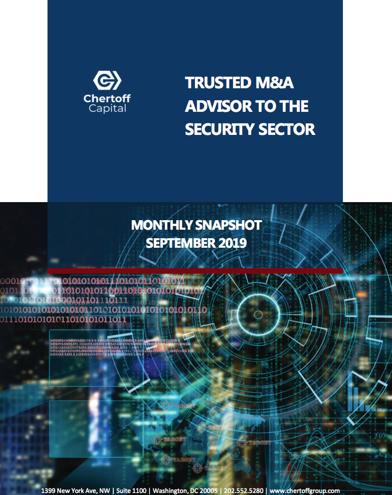 Chertoff_Security_Market_Snapshot_September_2019 Cover 3